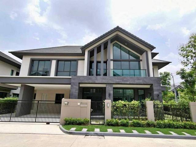 ภาพPPL13 ขายบ้าน เดี่ยวสุดหรู หมู่บ้าน บางกอก บูเลอวาร์ด พระราม 9 Bangkok Boulevard หลังมุม บ้านใหม่ไม่เคยเข้าอยู่ ฟรีค่าส่วนกลาง 3 ปี  ถ.เลียบวงแหวนกาญจนาภิเษก แขวงทับช้าง เขตสะพานสูง