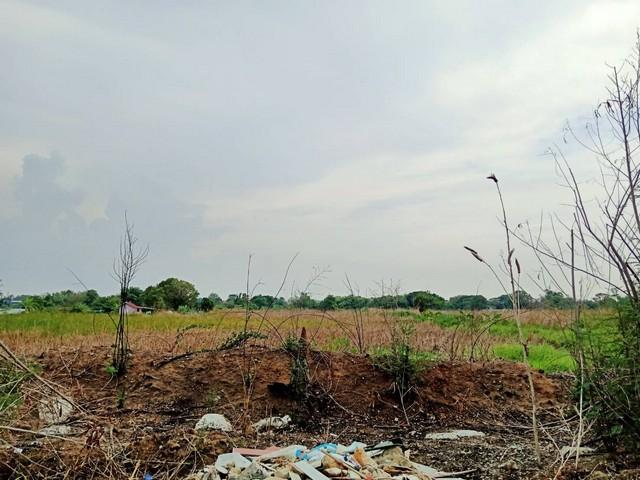 ขายที่ดิน10-2-65ไร่ ติดขนส่งสินค้าชานเมืองร่มเกล้า