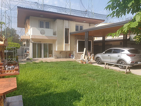 ภาพขายด่วน บ้านเดี่ยว หมู่บ้านเสนานิเวศน์โครงการ1 4 ห้องนอน เขตลาดพร้าว กรุงเทพ