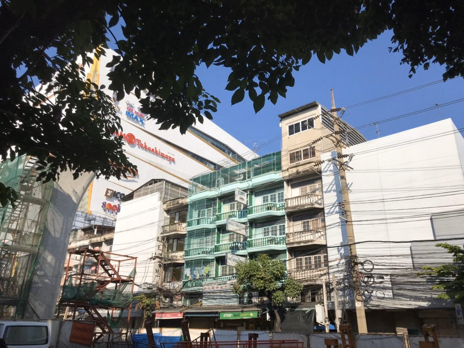 ขายตึกแถว3คูหา 6ชั้น ใกล้ห้างไอคอนสยาม