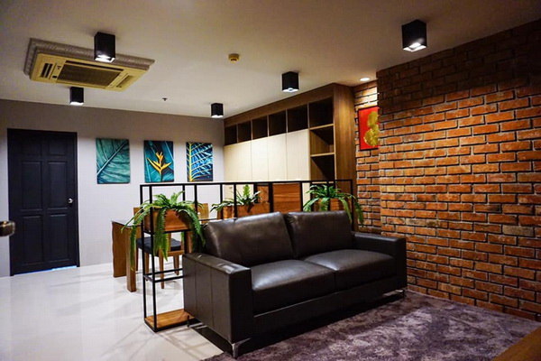 ภาพ(เช่า) FOR RENT SUKHUMVIT LIVING TOWN ASOKE / 1 bedroom / 60 Sqm.**20,000** NIce Decorated. CLOSE MRT PETCHABURI