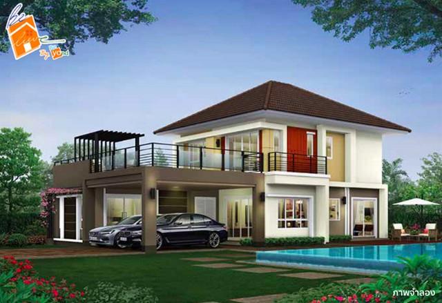 ภาพขายบ้านเดี่ยวแปลงใหญ่ บ้านใหม่ นครปฐม