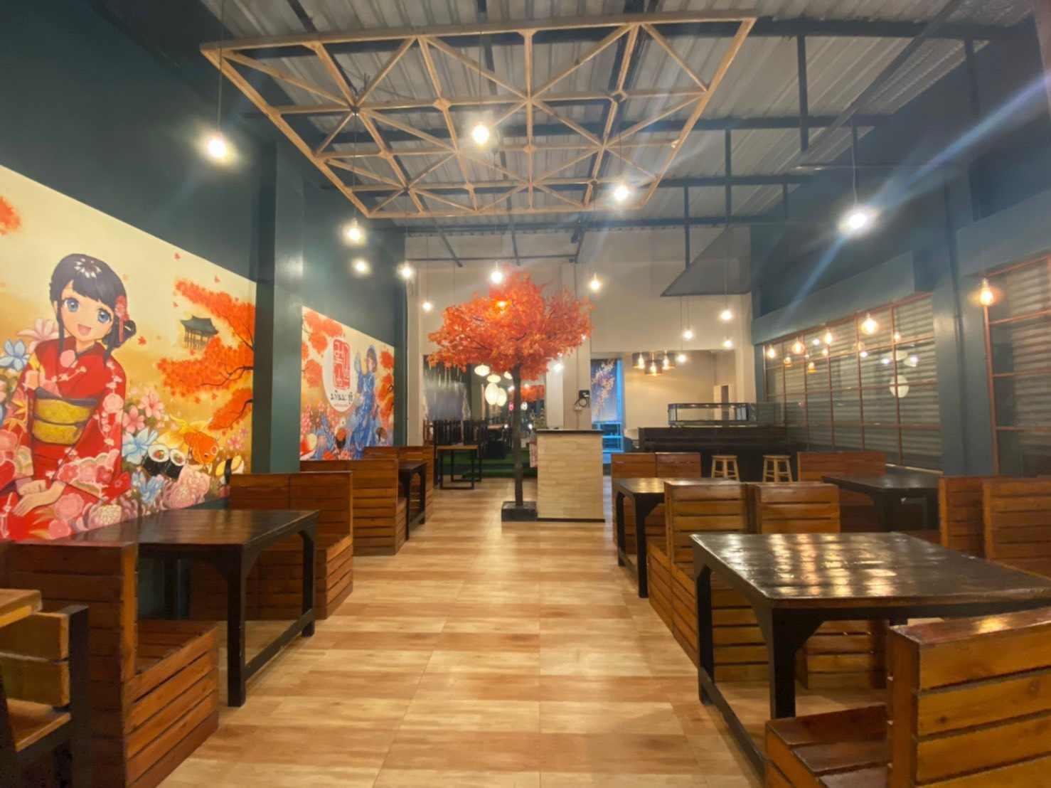 ภาพเซ้ง!! ร้านอาหารญี่ปุ่น-Sushi ให้อุปกรณ์ครบ @ในโครงการสวนธนพลาซ่า 369 (บางมด กทม)