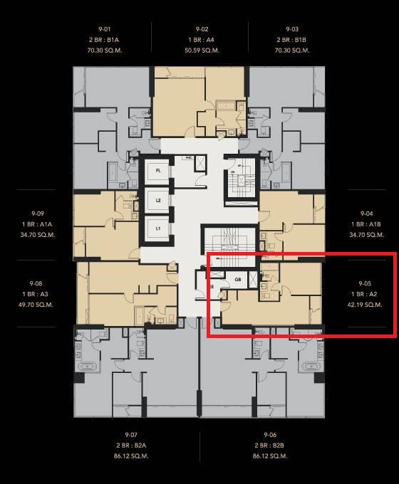 ภาพCeles Asoke - Selling At Loss / Luxury 1 Bed / 42.19 Sqm / High Floor