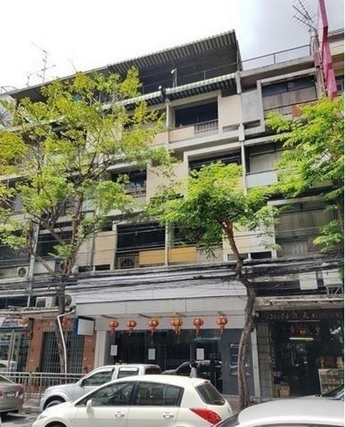 ภาพCode16823 ให้เช่าตึก อาคารพาณิชย์ 4 ชั้น 2 คูหา เดินได้จากรถไฟฟ้า MRT วัดมังกร 400 ตารางเมตร ติดถนนเจริญกรุง เขตสัมพันธวงศ์