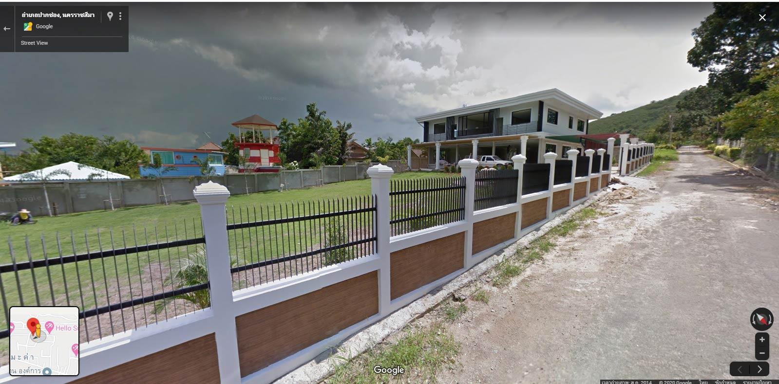 ภาพขายบ้านพร้อมเดี่ยว 2 ชั้นหมู่บ้านแลนด์บรีซ 3พื้นที่ 205 ตารางวา