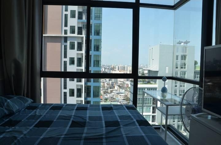 ภาพขายหรือให้ช่า คอนโด The Sky high rise หรู ติดรถไฟฟ้า อุดมสุข ** อนาคต Bangkok Mall จะมาเปิด **