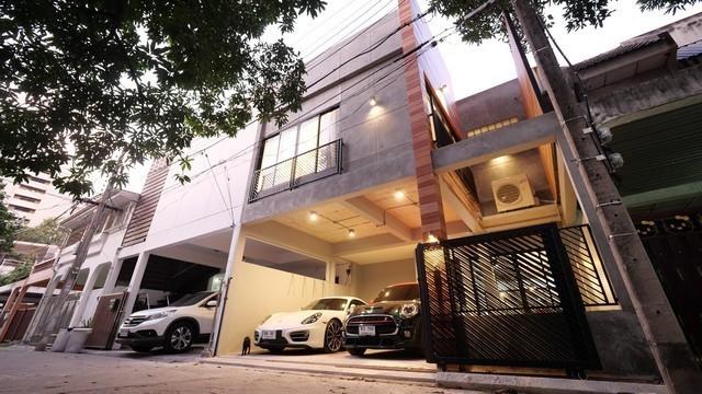 ภาพPDD02 ให้เช่าทาวน์โฮม 2 ชั้น สุขุมวิท49 ตกแต่งครบ style modern loft ใกล้ BTS พร้อมพงษ์  BTS ทองหล่อ เขตวัฒนา