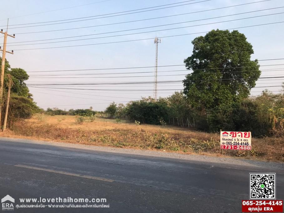 ภาพขายที่ดินบ้านหมอ สระบุรี ติดถนนหน้าพระลาน-บ้านครัว (3034)