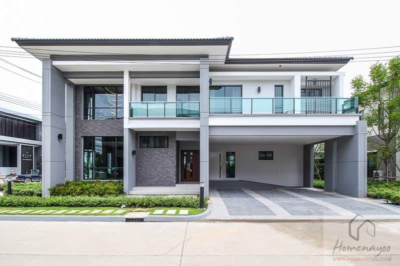 ให้เช่า บ้านตัวอย่าง ในโครงการ เดอะ ซิตี้ พัฒนาการ 97 ที่ดินแปลงใหญ่สุดอันดับต้นๆในโครงการ อยู่ใน VIP ZONE หน้า