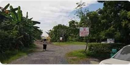 ภาพขายที่ดินเปล่า ถมแล้ว ซอย โยธินพัฒนา บางกะปิ กรุงเทพฯ