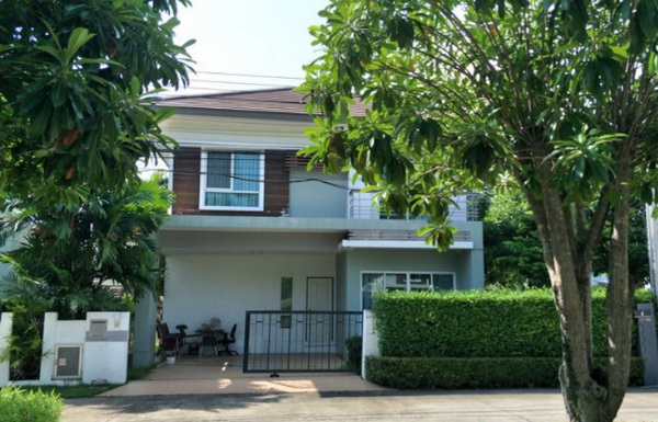 ภาพ(เช่า) FOR RENT CLUSTER VILLE 2 RAMA 5 / 3 beds 3 baths / 45 Sqw.**25,000** Fully Furnished. Nice Decorated. CLOSE THE WALK RATCHAPRUK