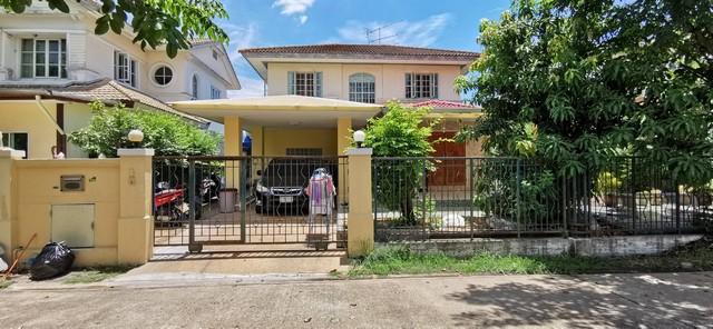 ภาพขายบ้าน มัณฑนา ซอยวัดพระเงิน 80 ตร.วา 3นอน 2ที่จอด