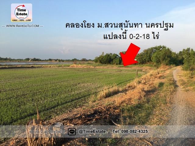 ภาพขายถูกที่ดิน 218ตรว. ติด ม.สวนสุนันทาศาลายา นครปฐม