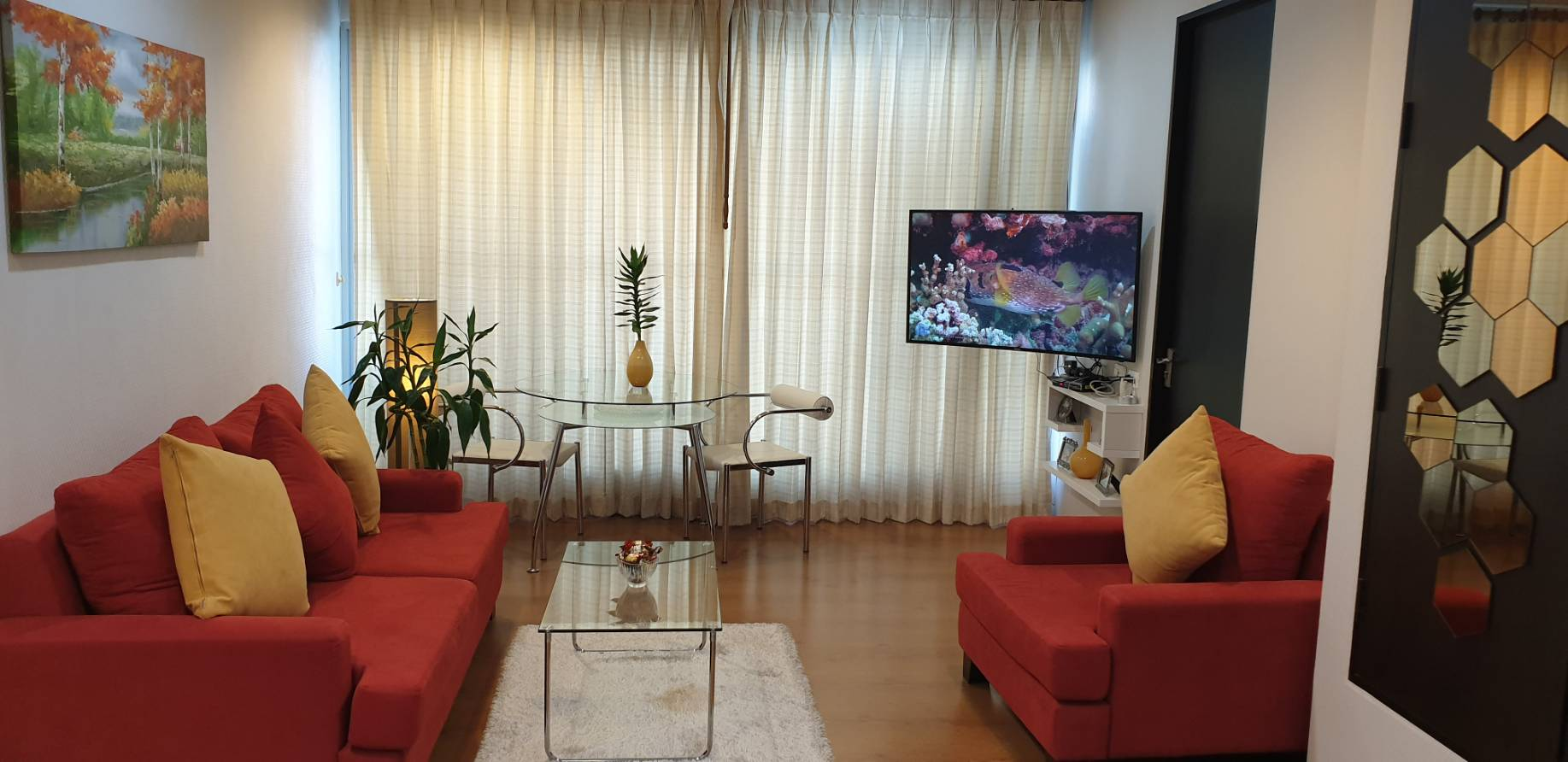 ภาพThe Address Siam - Beautifully Furnished 2 Bed / High Floor  / Ready To Move In
