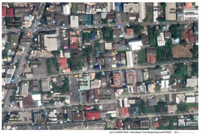 ภาพขายที่ดินเปล่า ซอย นาคนิวาส 14 ลาดพร้าว 71