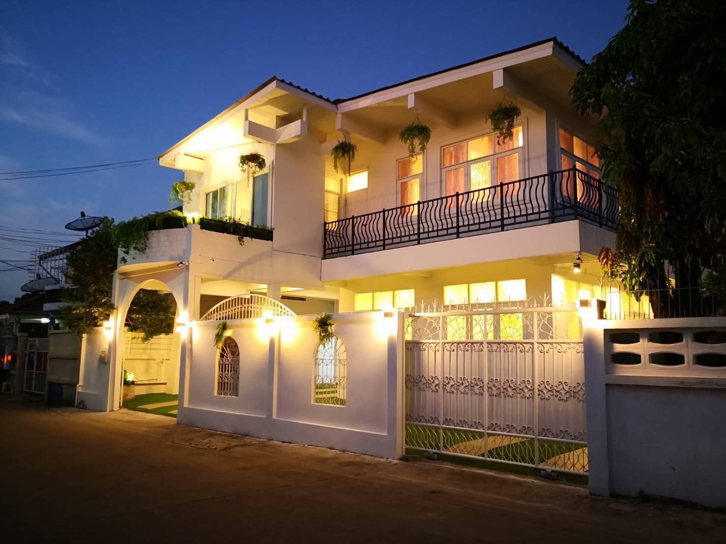 ภาพขายบ้านเดี่ยว 2 ชั้น 64 ตร.วา. ใกล้นิชดาธานี ซอยสามัคคี 34 ปากเกร็ด นนทบุรี