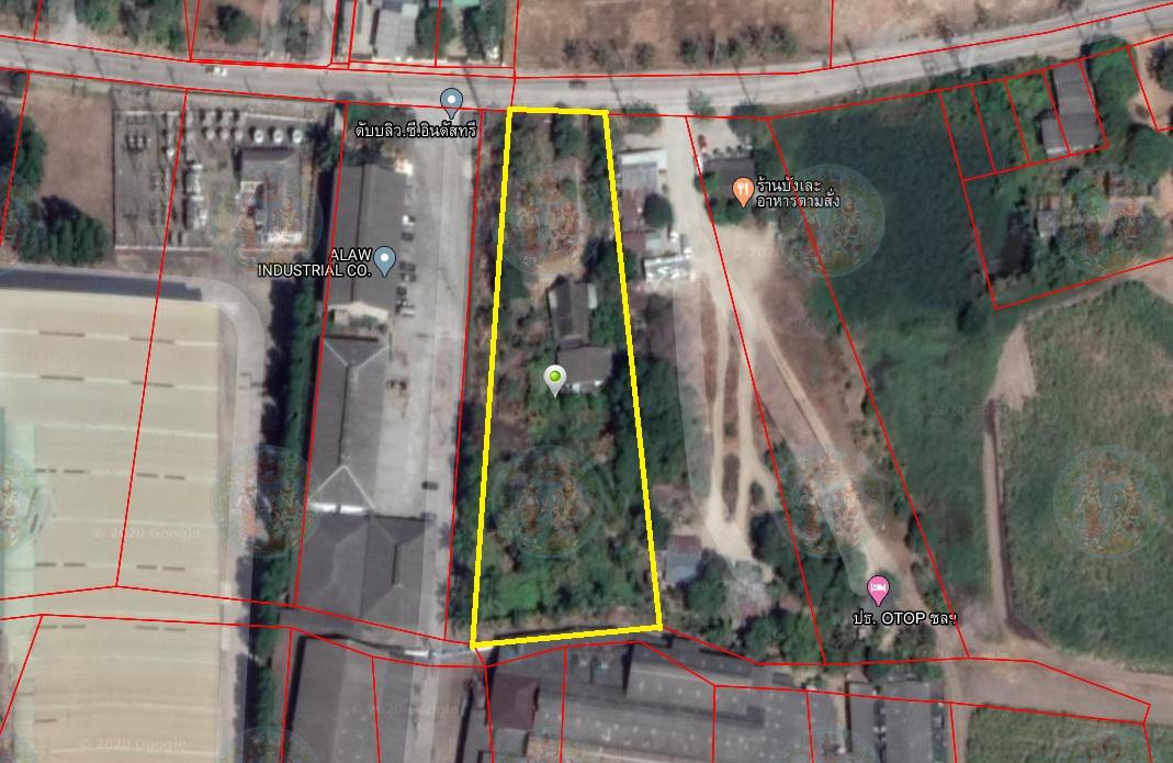 ภาพขายที่ดินพร้อมสิ่งปลูกสร้าง 2 ไร่ 2งาน 98ตรว. ใกล้ถนนสุขุมวิท ชลบุรี