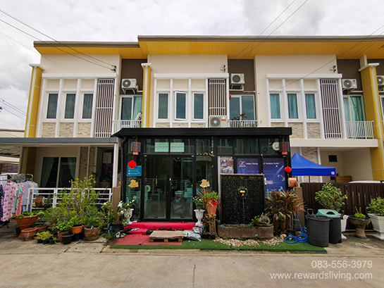 ภาพขายทาวน์โฮม หมู่บ้านโกลเด้น ทาวน์ วัชรพล สุขาภิบาล5