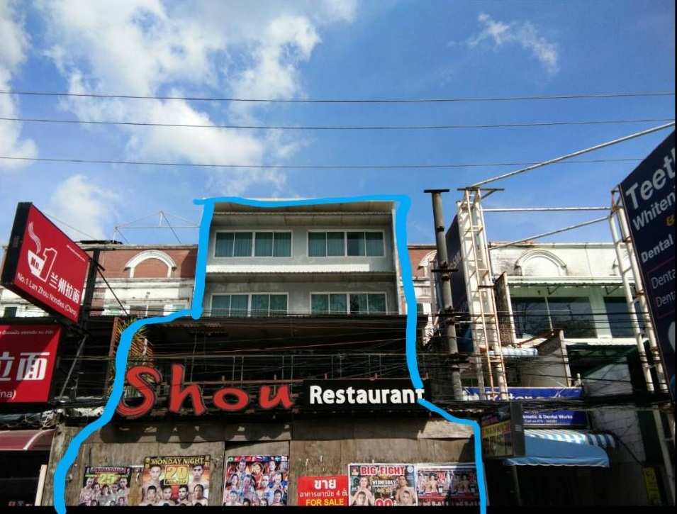 Hotel for sale near the beach, Patong beach Patong Sub-district, Kathu District, Phuket Province
