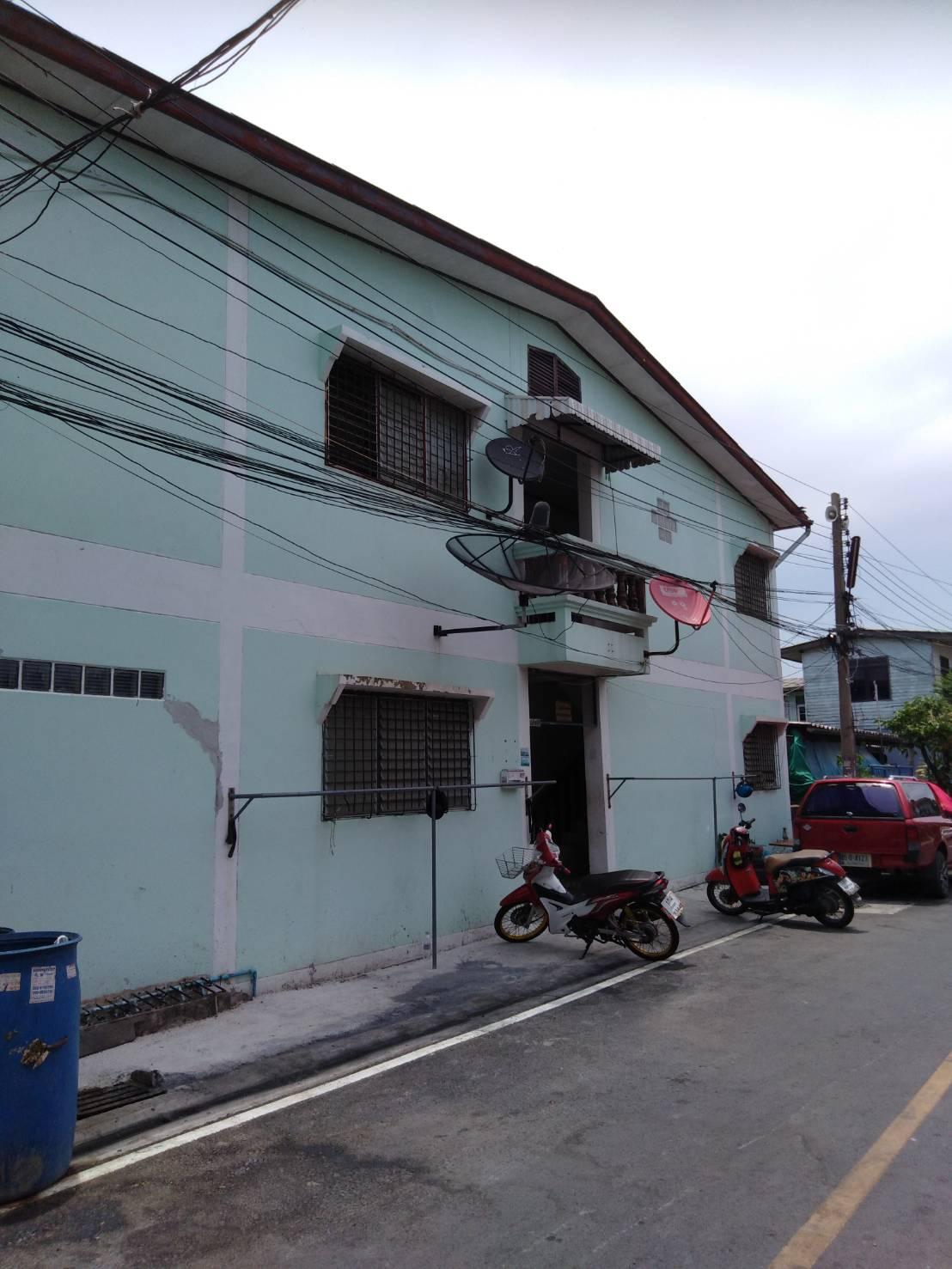 ภาพขายอพาร์ทเม้นท์ ผู้เช่าเต็ม เจ้าของขายเอง เมืองสมุทรปราการ