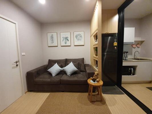 ภาพ(เช่า) FOR RENT PLUM CONDO PINKLAO STATION / 1 bedroom / 28 Sqm.**13,000** New Room. Cozy Decorated. CLOSE PATA PINKLAO