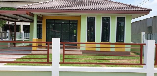 ภาพขายบ้านเดี่ยวสร้างใหม่ชั้นเดียวสวยมาก
