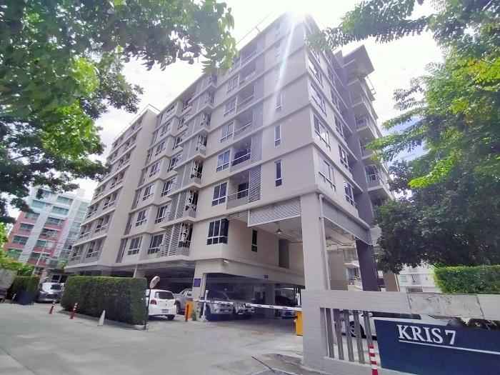 ภาพขาย คอนโด The Kris รัชดา 17 อาคาร 7 ใกล้ MRT สุทธิสาร ราคาถูก