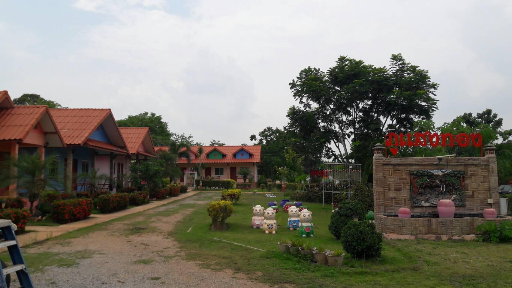 ภาพLand for sale with a resort in Khao Yai Khlong Muang Subdistrict, Pak Chong District, Nakhon Ratchasima Province Area of 12 Rai 90 Square Wah
