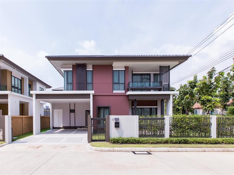 ภาพขายบ้านเดี่ยว โครงการของแสนสิริ หมู่บ้านบุราสิริ ราชพฤกษ์-345