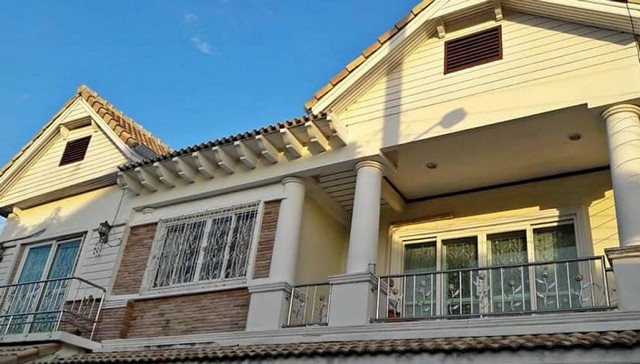 ภาพให้เช่าบ้านเดี่ยว 2 ชั้น ซอยรามคำแหง 68 บ้านสวย มีเฟอร์ พร้อมอยู่ ใกล้เดอะมอลล์บางกะปิ ม.ราม