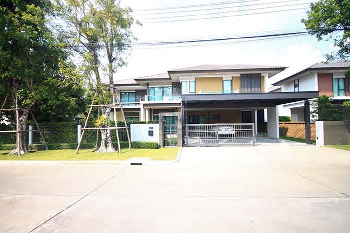 ภาพขาย บ้านเดี่ยว 2 ชั้น หมู่บ้านบุราสิริ ราชพฤกษ์-345 หลังมุม