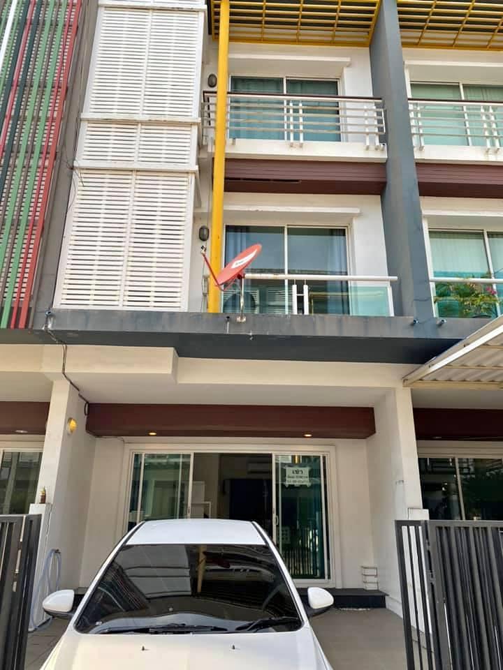 ภาพCode17024 ให้เช่าทาวน์เฮ้าส์โซนแจ้งวัฒนะ ปากเกร็ด 3 ชั้น หมู่บ้านชวนชื่น โมดัส เซนโทร ทำเลดี 170ตรม 3 ห้องนอน ซ.แจ้งวัฒนะ 41 เดินทางสะดวกใกล้ทางด่วน Townhouse for RENT Nonthaburi area Close to Changwattana 3 bedrooms