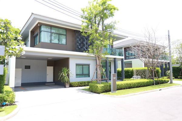 ภาพ(เช่า) FOR RENT SETTHASIRI PATTANAKARN / 4 beds 3 baths / 87 Sqw.**95,000** Modern Decorated. MUST SEE. CLOSE SUANLUANG RAMA 9