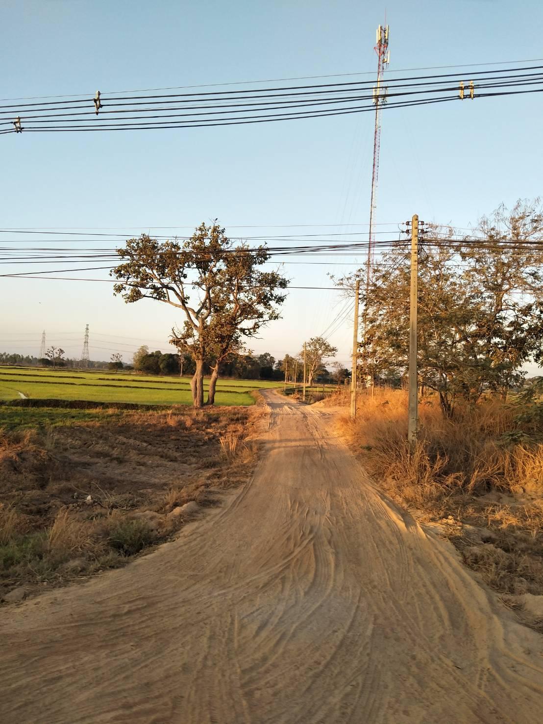 ภาพที่ดินสวยติดถนน อำเภอเสลภูมิ จังหวัดร้อยเอ็ด