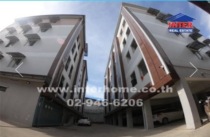 ภาพขายอพาร์ทเม้นท์ 5 ชั้น 643.2 ตร.ว. ใกล้ไทวัสดุบางพลี ซอยไทยประกันแมน2 ถนนเทพารักษ์