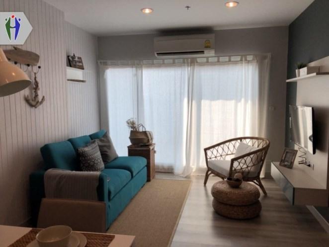 ภาพให้เช่า คอนโด เซ็นทริค ซี 2 ห้องนอน วิวทะเล