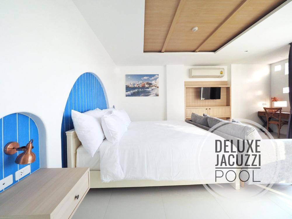 ภาพคอนโดหรูใกล้หาดบางเสร่ พร้อมอ่างจากุซซี่ส่วนตัว บริหารงานแบบโรงแรม