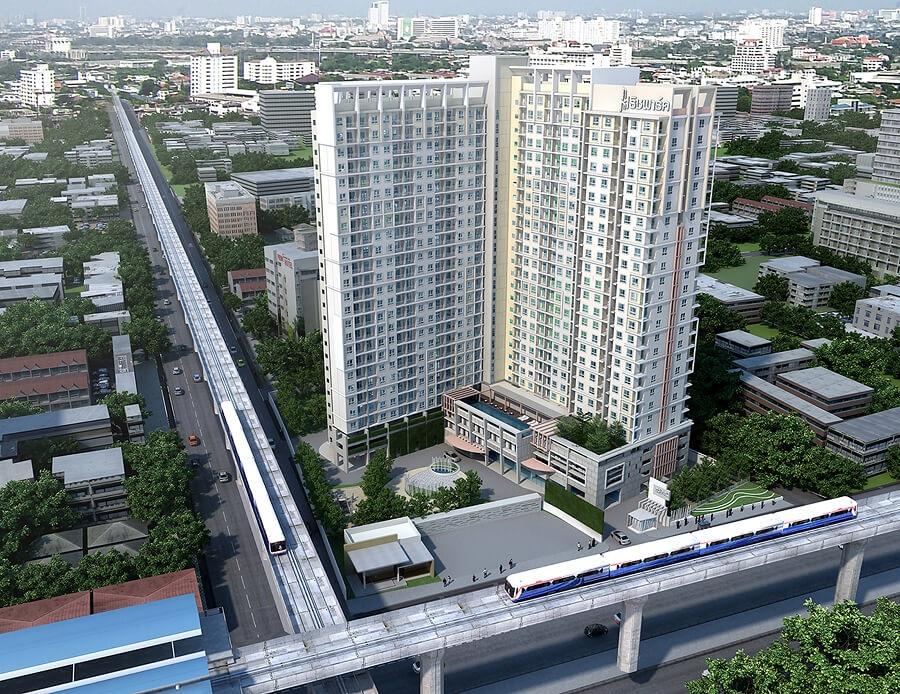 ภาพขายคอนโด Rich Park @Bangson Station ชั้น 23 วิวสวย กรุงเทพมหานคร
