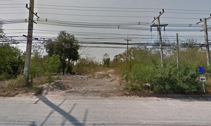 ภาพขายที่ดิน 3 ไร่ 70 ตรว ติดถนนสุขุมวิท อมตะนคร ชลบุรี
