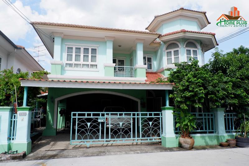 ภาพขายบ้านเดี่ยวหมู่บ้านภัสสร2 (หลังมุม)ถนนเลียบคลอง3