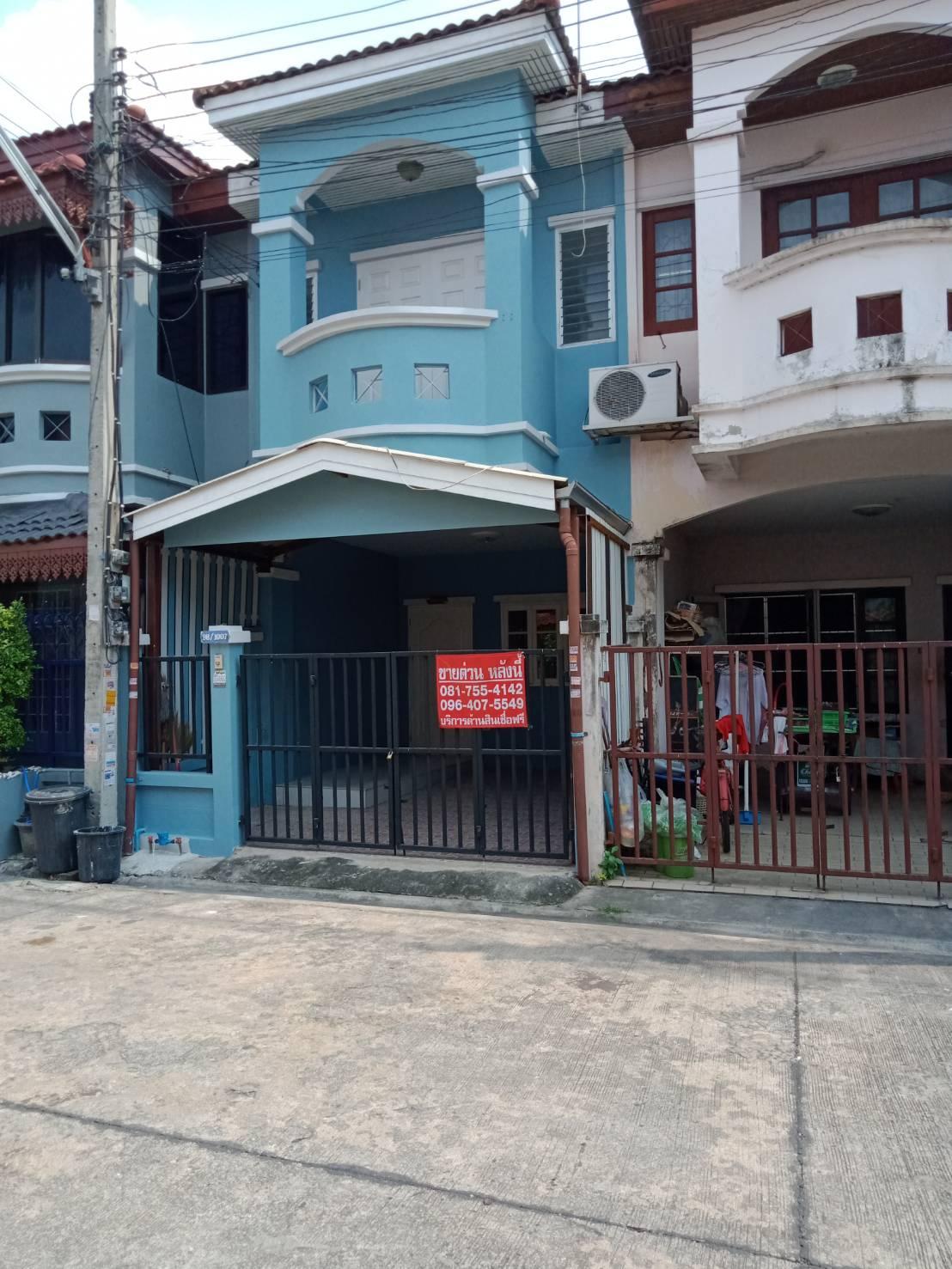 ภาพขาย ทาวน์เฮ้าส์ 2 ชั้น  หมู่บ้านศิริวรรณ - ชวนชม ถนนบางกรวย - ไทรน้อย  บางบัวทอง นนทบุรี