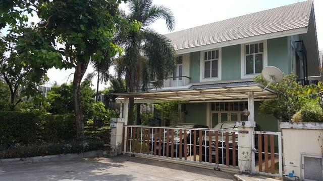ภาพขายบ้านเดี่ยวหรู Milton Residence Ramintra
