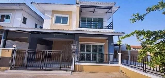 ภาพขายบ้านแฝดหมู่บ้านคุณาสิริ บ้านแฝดสวยรีโนเวทใหม่
