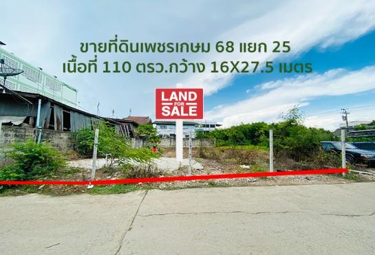 ภาพขายที่ดินเพชรเกษม 68 แยก 25 เป็นที่ดินเปล่า