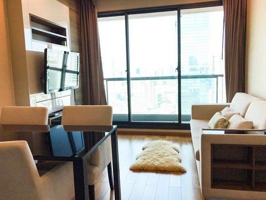 ภาพ(เช่า) FOR RENT THE ADDRESS SATHORN / 2 beds 2 baths / 66 Sqm.**48,000** Fully Furnished. High Floor. CLOSE BTS CHONGNONSI