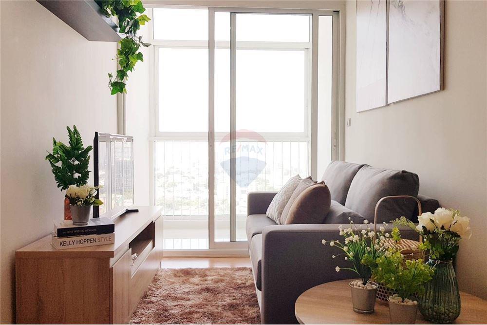 ภาพขายคอนโดเดอะโคสต์ แบงค็อกบางนา 34.91 ตร.ม. ชั้น24 ตกแต่งสวยพร้อมเฟอร์นิเจอร์ ห้องสวยมาก