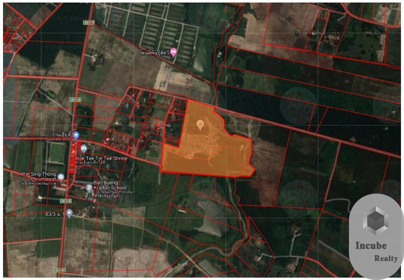 ภาพขายที่ดินหนองอิรุณ 80-0-0ไร่32 ล้าน