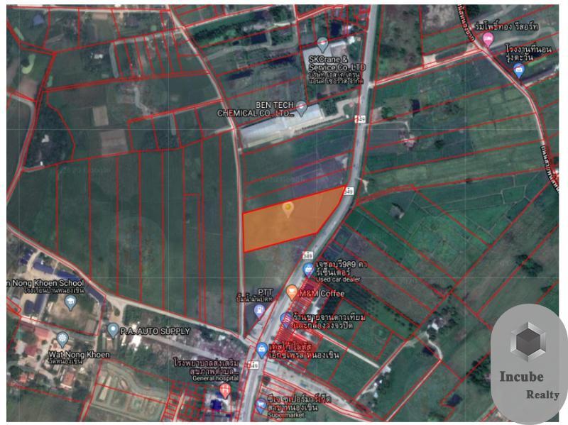 ภาพขายที่ดินหนองอิรุณ 8-2-26ไร่29.75 ล้าน