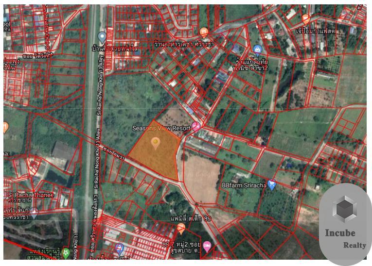 ภาพขาย ที่ดิน สุรศักดิ์ 7-2-84 ไร่ ราคา 77.1 ล้าน